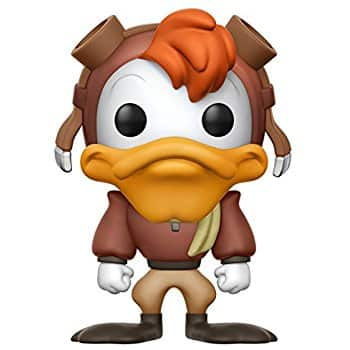 Funko POP Disney Dark Wing Duck Launchpad McQuack for reduced price $6.80 (38% off) @amazon