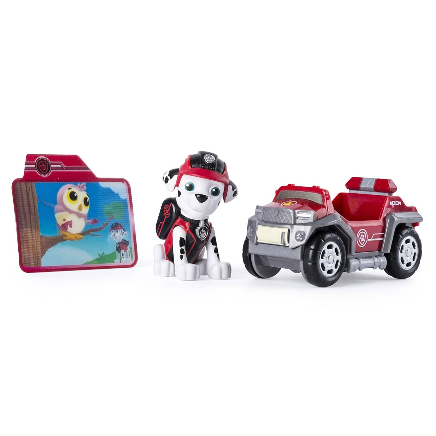 Paw Patrol Mission Paw - Marshall's Rescue Rover - Figure and Vehicle  Reduced price $7.49  (25% off) @amazon