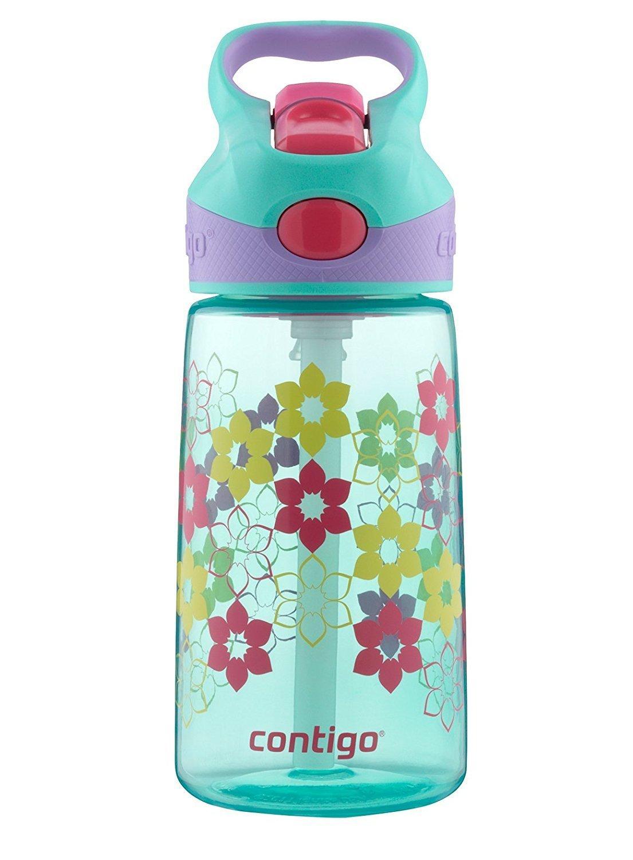 Contigo AUTOSPOUT Straw Striker Kids Water Bottle, 14oz, Ultramarine Reduced price $5.75 (44% off) @amazon as add-on item