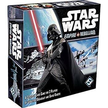 Star Wars: Empire vs Rebellion (strategy card game) $6.49 (50%) @amazon as add-on item