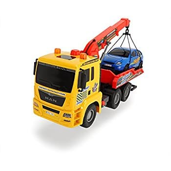 """Dickie Toys 21"""" Air Pump Action Tow Truck Vehicle at its Best price $10.76 @amazon"""