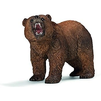 Schleich Grizzly Bear Toy Figure for Reduced Price  $5.40(39%) @Amazon as add-on item