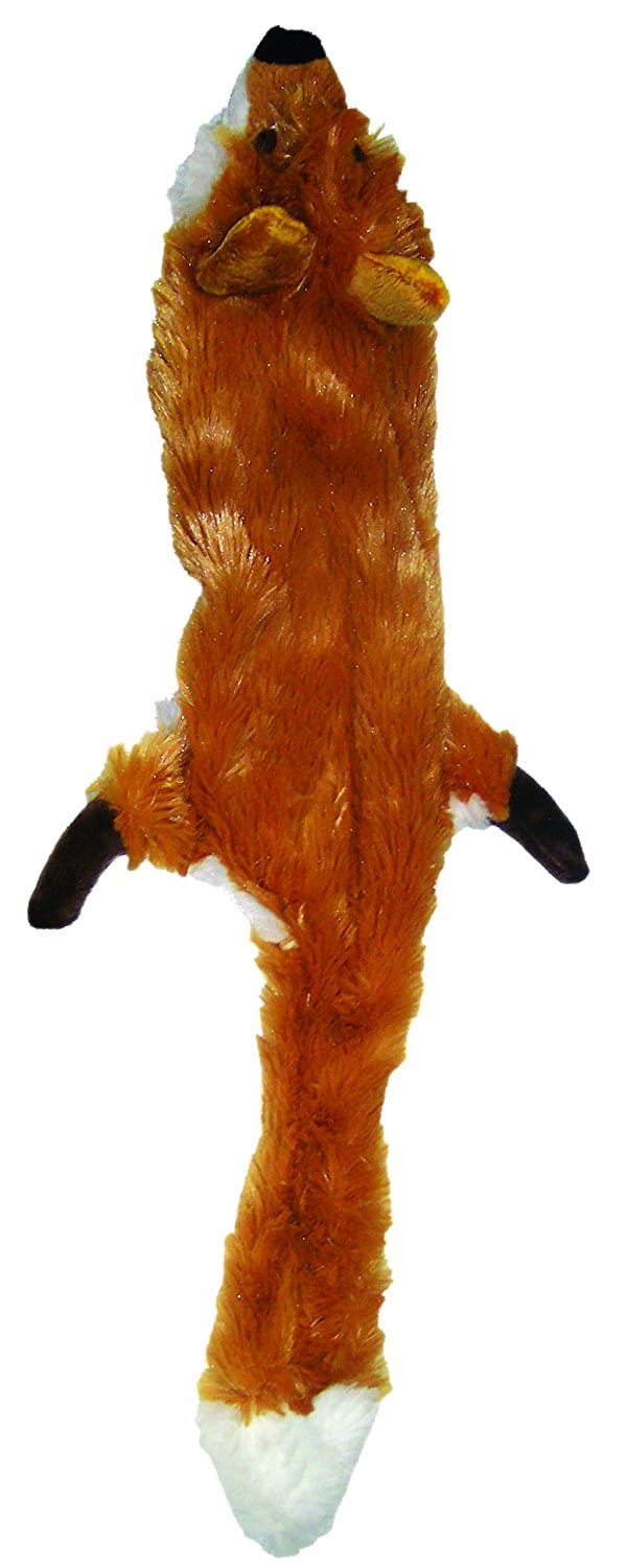 Ethical Pets Plush Skinneeez Fox 14-Inch Stuffingless Dog and cat squeaking for $5.99 @amazon