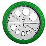 Helix Angle and Circle Maker, Protractor for Reduced price $3.19 @amazon