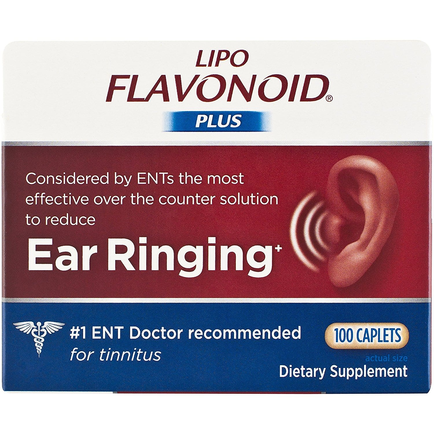 Lipo-Flavonoid Plus Ear Health Supplement, 100 Caplets $16.90 with Subscribe & Save @amazon. (Get %15 off more with 5 products order)