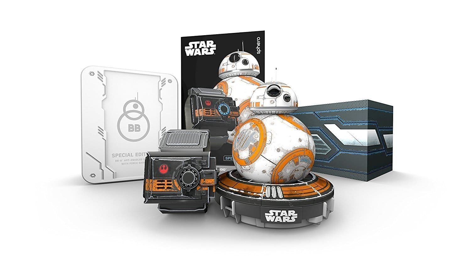 Sphero R001SUS Star Wars BB-8 App Controlled Robot with Star Wars Force Band for $79.99 @amazon as deal of the day