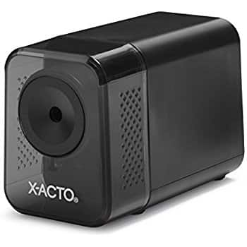 X-ACTO XLR Electric Pencil Sharpener at reduced price $14.39 @amazon