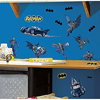 Batman: Gotham Guardian Peel & Stick Wall Decals at its Best price $4.75 @amazon as add-on item