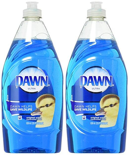 Dawn Ultra Dishwashing Liquid Dish Soap Original Scent, two 21.6 oz bottles (total 43.2 oz) $2.71 @amazon Prime Pantry after  coupon usage