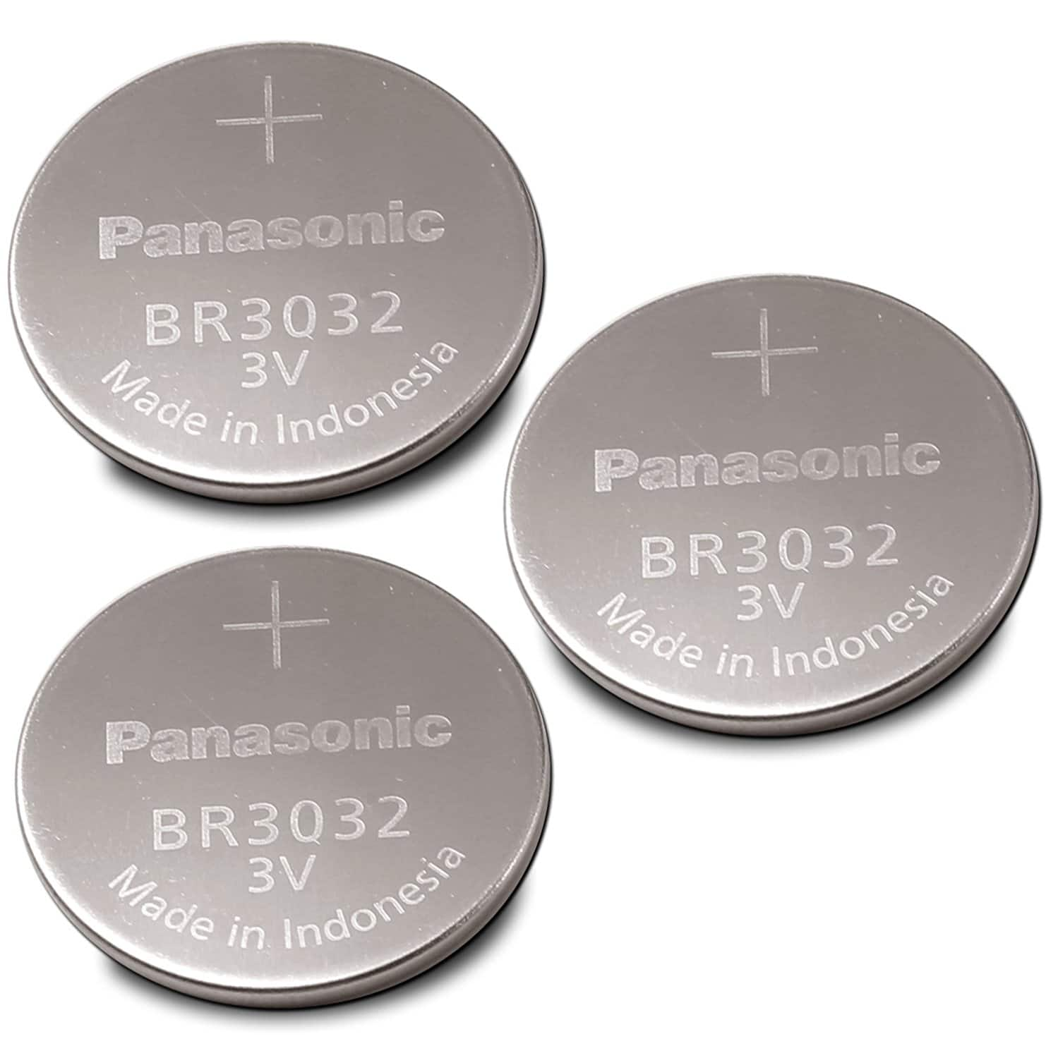 Panasonic Battery, Lithium Button Cell Br3032 (3 Pieces) $6.93 ($2.31 / Each Set)  (21% off) @amazon