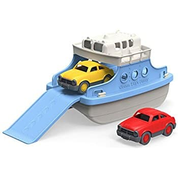 Green Toys Ferry Boat with Mini Cars Bathtub Toy, Blue/White back in amazon lightning deal  for $11.35 (55% off) at its Best Price (ENDS at 2PM PM PST)
