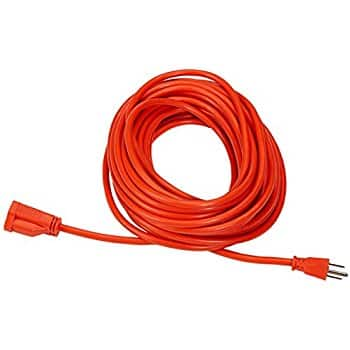 AmazonBasics 16/3 Vinyl Outdoor Extension Cord - 50 Feet (Orange) for $13.31 (22% off) @amazon