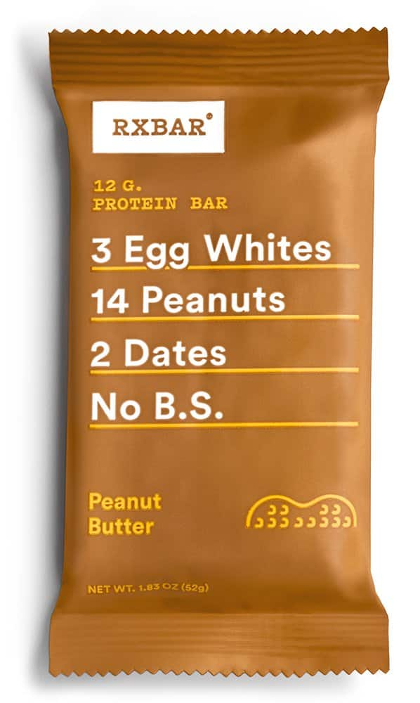 RXBAR Whole Food Protein Bar, Maple Sea Salt, 1.83 Ounce (Pack of 12) for  $19.92 ($0.91 / Ounce)  @amazon with S & S