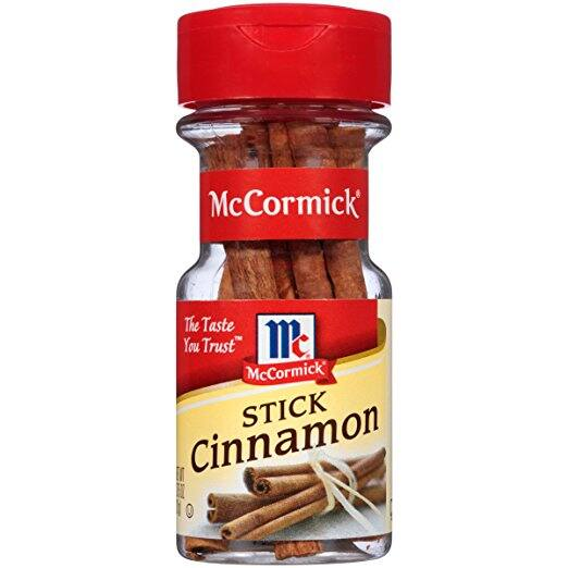 McCormick Cinnamon Sticks, 0.75 oz for $1.68 @amazon, only for prime pantry members