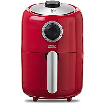 Dash Compact Air Fryer 1.2 L Electric - white for $50.04, red for $49.59