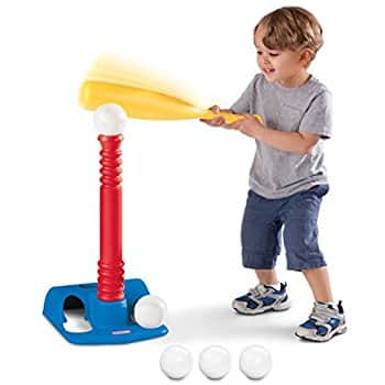 Little Tikes T-Ball Set, Red, 5 Ball for $19.99  @amazon
