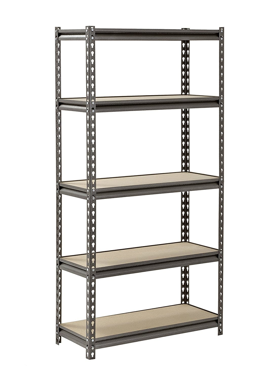 "Muscle Rack 5-Shelf Steel Storage Rack (30""x12""x60"") $30.15 + Free Shipping back in stock (ships in 1-2 weeks)"