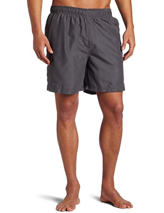 Kanu Surf Men's Havana Elastic Waist Solid Swim Trunk for $6.78 @amazon (Medium Charcola color)