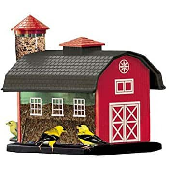 Audubon Red Barn Combo Seed Bird Feeder Model 6290 - $14.40  (or $14.05 at checkout if coupon visible )