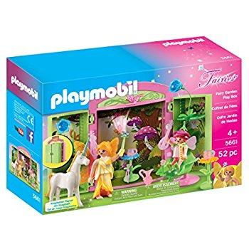 PLAYMOBIL Fairy Garden Play Box at its best price - $14.71 @amazon, Walmart through google express