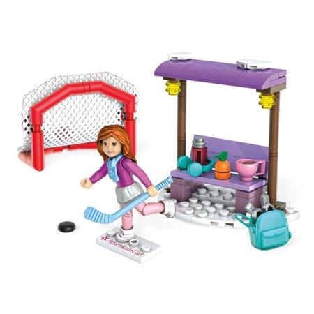 Mega Construx American Girl Mia's Hockey Practice Building Kit at its best price - $4.07 @amazon(Add-on),walmart