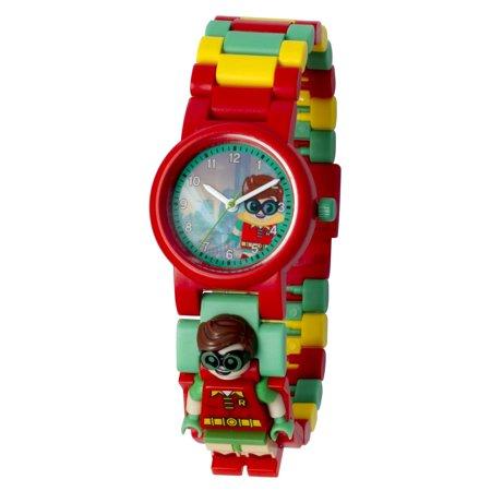 LEGO Batman Movie Robin minifigure link watch - $8.45 @walmart