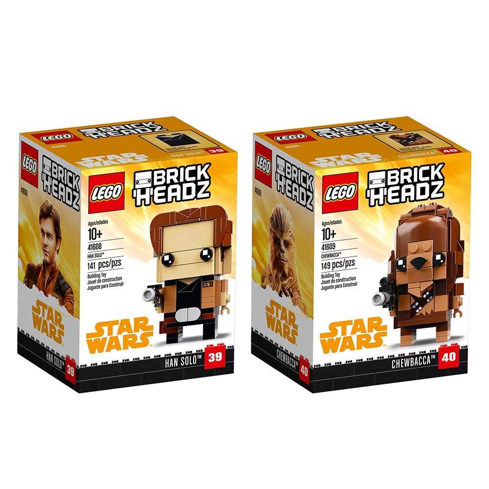 LEGO Brickheadz Bundle  66591 Building Kit (290 Piece) ( Han Solo & Chewbacca brickheadz) for $5.96 (70% off)  @amazon as Add-on