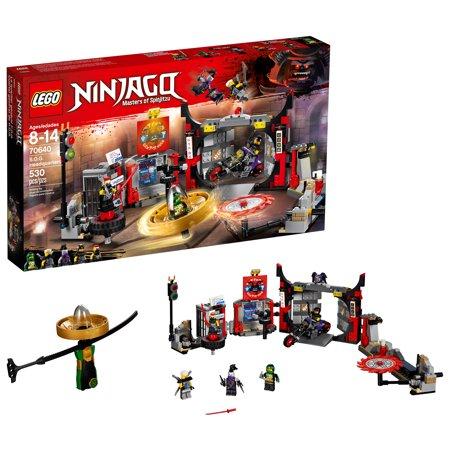 LEGO Ninjago S.O.G. Headquarters 70640 ,530 pieces-  $25.00 (37% off) @amazon,walmart