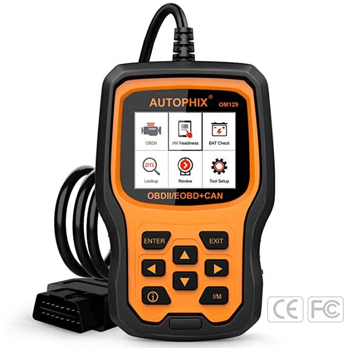 AUTOPHIX OM129 OBD2 Scanner with Graphing Battery Test $51.05