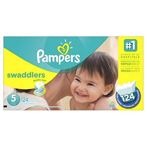 Amazon Prime Members: 20% off S&S Pampers Swaddlers plus $3 coupon $35.08