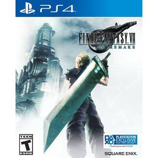 Final Fantasy VII: Remake - PlayStation 4 @ Target, Shipping Again, Additional 15% off, as low as $21.79 shipped, YMMV