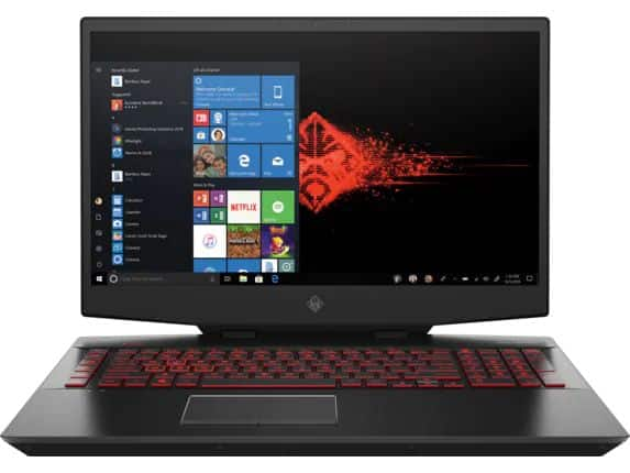 """HP OMEN 17T gaming laptop - RTX 2080 Max-P with G-Sync, 8 core i9-9880H, 17"""" 144Hz IPS display, Intel Optane Memory - $2008 for students $2008.79"""