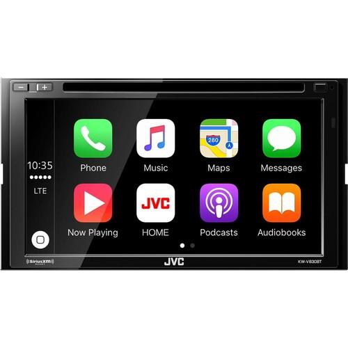 JVC - 6.8 Screen; - Android Auto/Apple CarPlay™ - Built-in Bluetooth - In-Dash CD/DVD/DM Receiver - Black $299.99