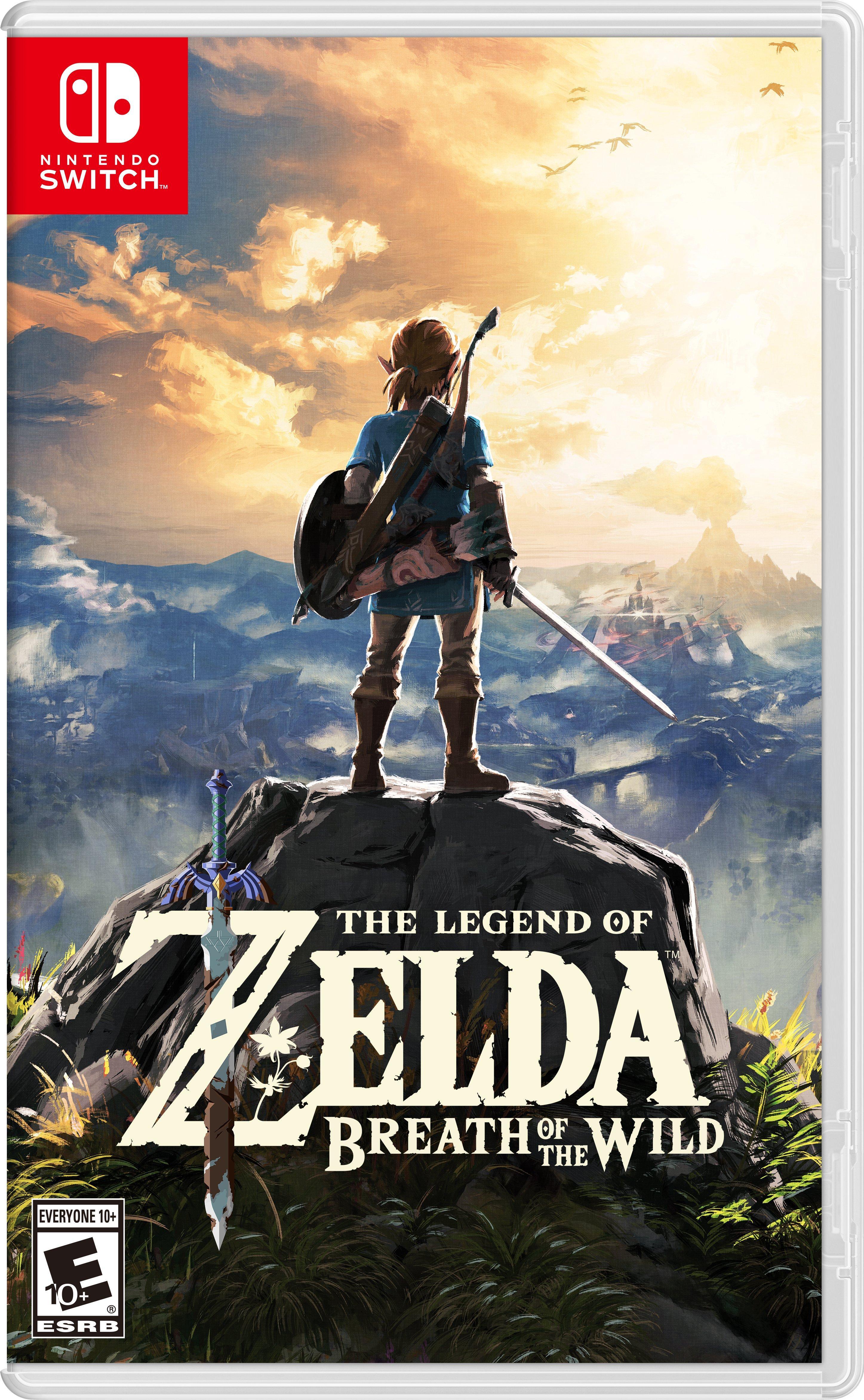 The Legend of Zelda: Breath of the Wild (Switch) - $49.94 @ Amazon