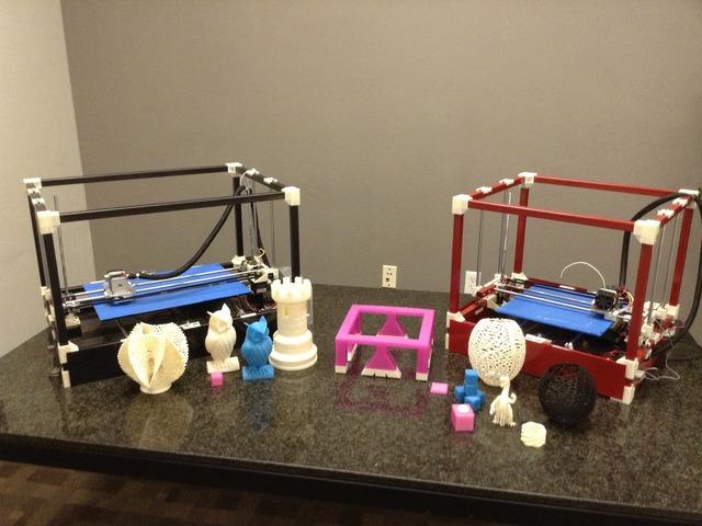 Rigidbot 3D Filament Printer with 10inx10inx10in volume $340+$50 ship (Kickstarter)
