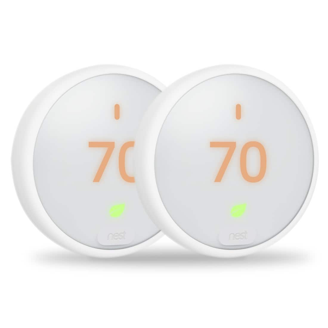 Nest Thermostat E - 2 Pack for $58 (in MA for qualified customers)