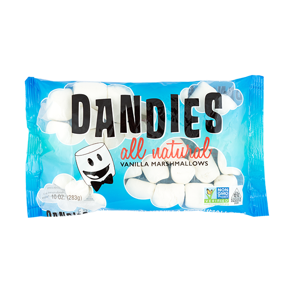Dandies All Natural Marshamallows 10oz (Vegan, Best-tasting) $3.33