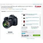 Canon EOS 6D body + 24-105 f/4 L lens + Pixma Pro-100 + paper + 1 year drop & spill warranty for $1,999 AR @ Adorama