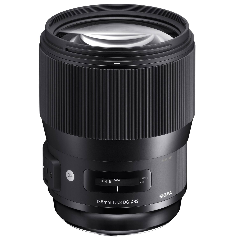 Sigma Art 135mm Lens Nikon Mount $1049 and other various Primes (Refurbished)