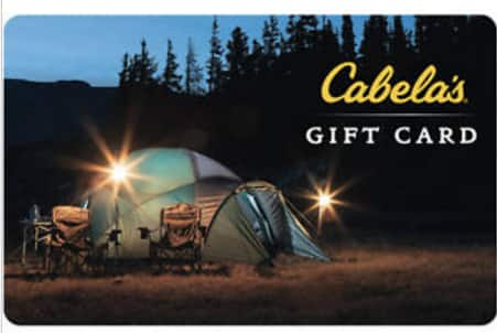 $100 Cabela's gift card for $70 F/S