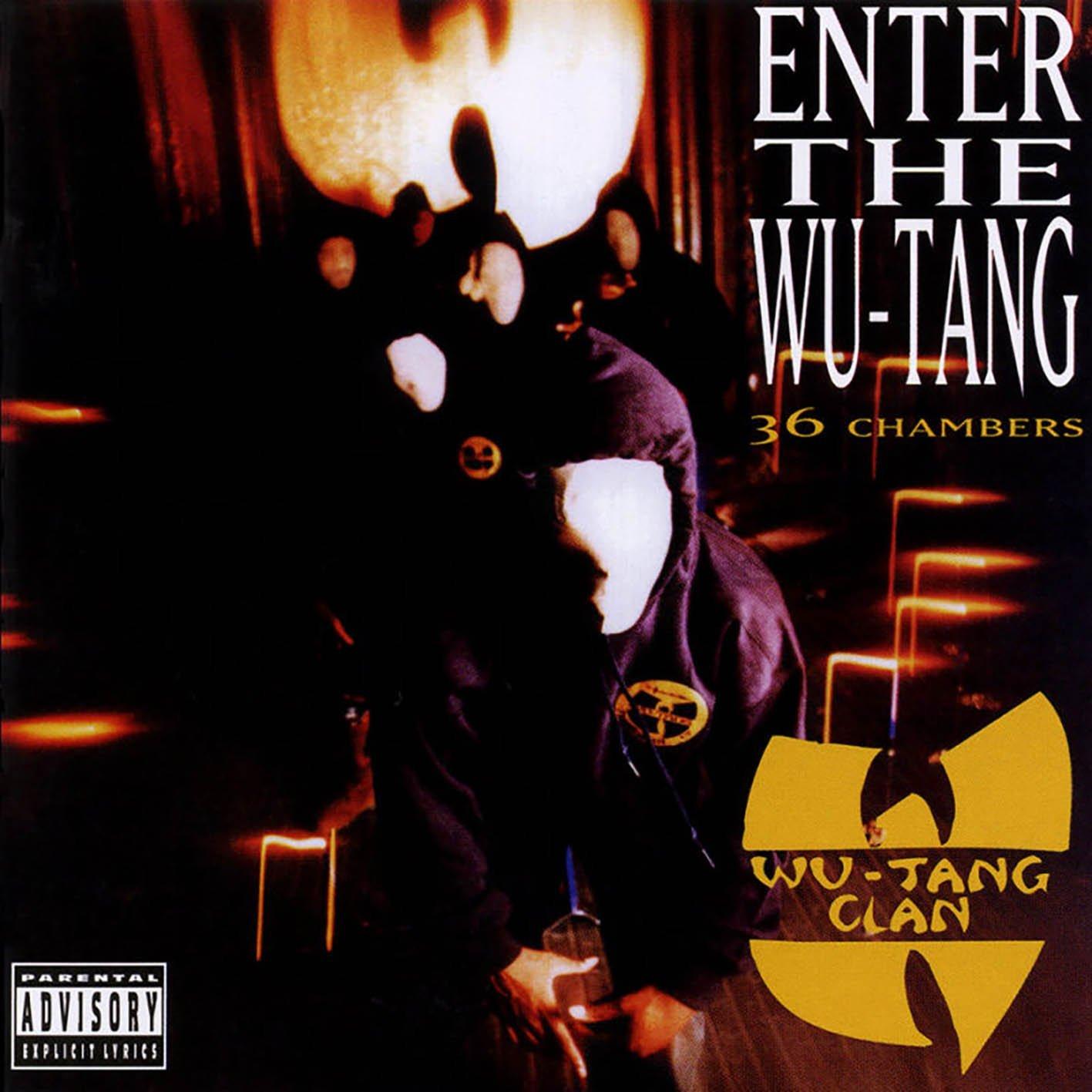 Wu-Tang Clan - Enter the Wu-Tang/36 Chambers Vinyl Record w/ AutoRip Mp3s $10.13