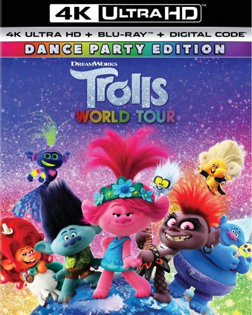 Trolls World Tour (4K/UHD & Blu Ray w/ Digital Code) plus FREE Movies Anywhere 4K Code (Instant Email Delivery) $29.99