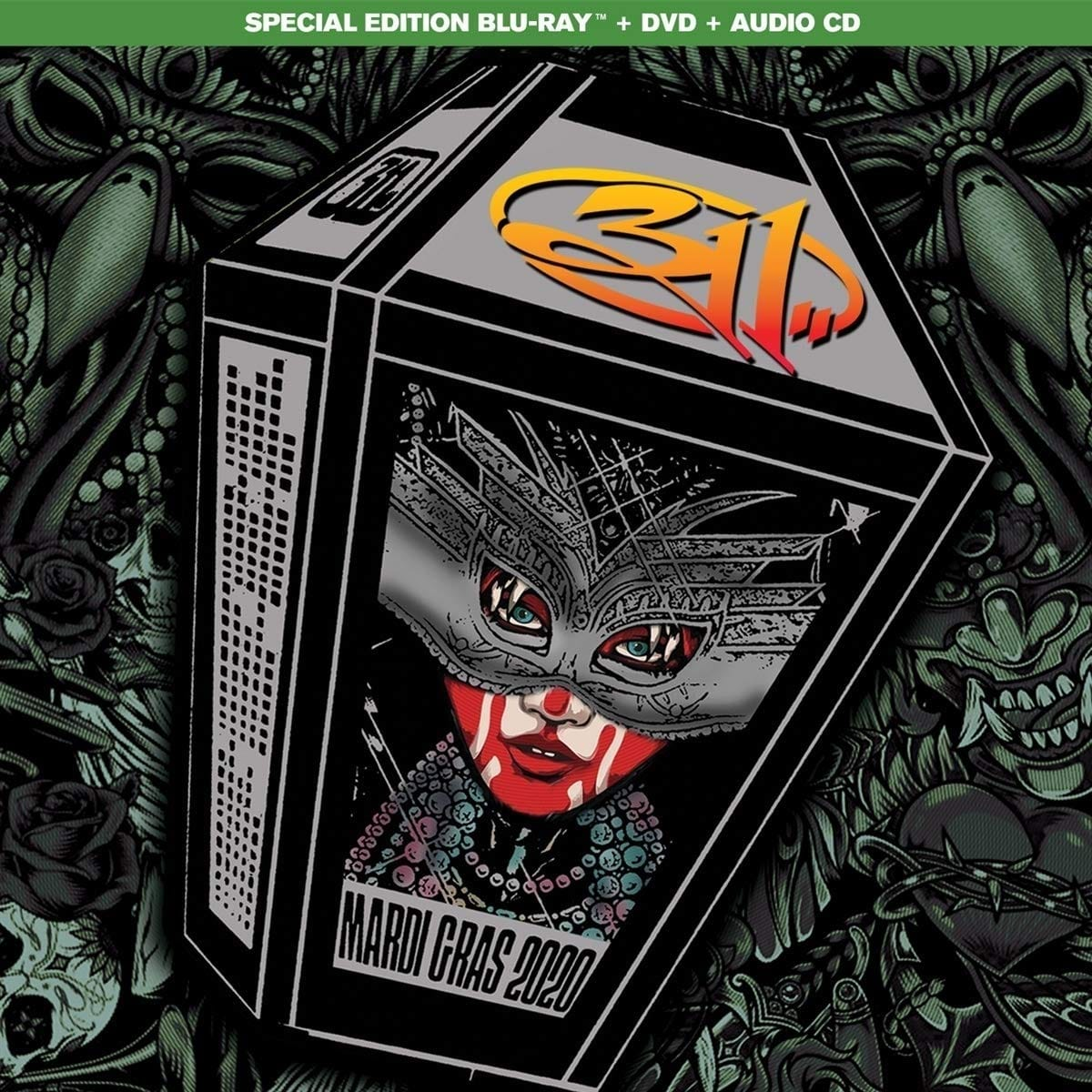 311 - Mardi Gras 2020 Live HD Concert Streaming FREE for Amazon Prime Members