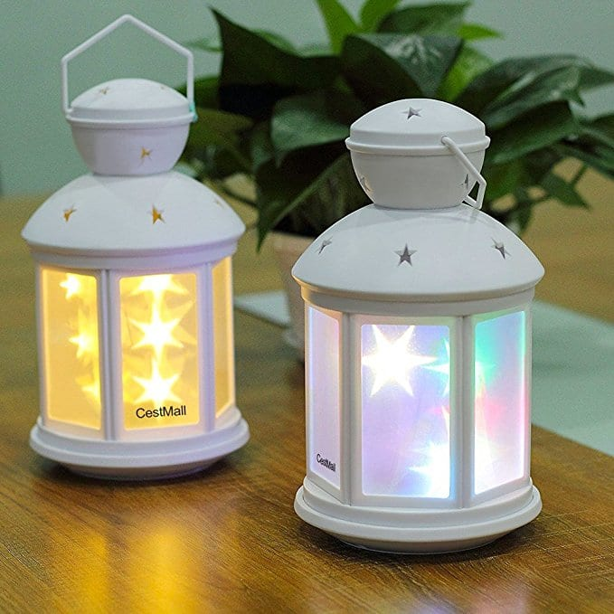 RGB Colorful Portable LED Table Lamps, Children Night Light for $8.49 AC