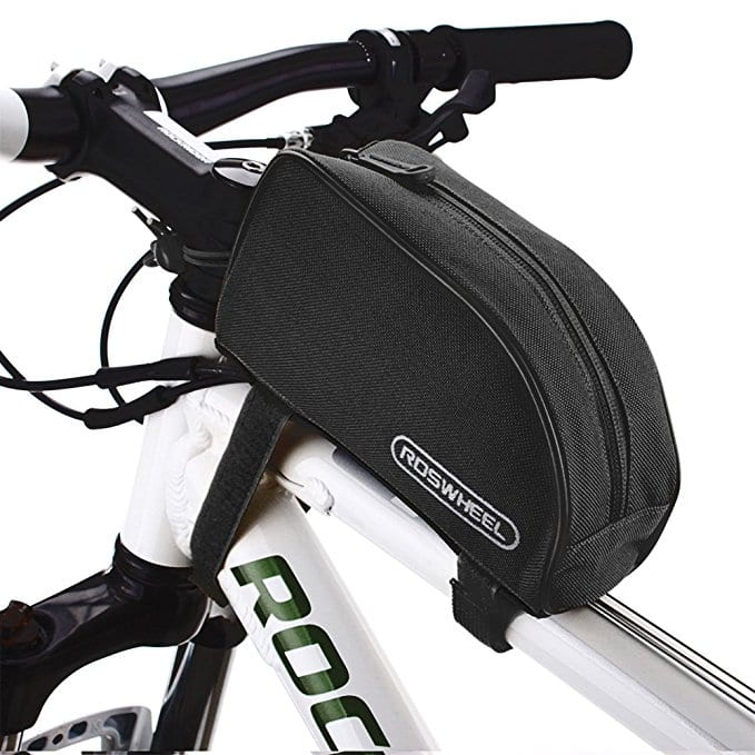 Allnice 1L Outdoor Mountain Bicycle Cycling Frame Front Top PVC Tube Bag Bike Pouch for $4.79 AC