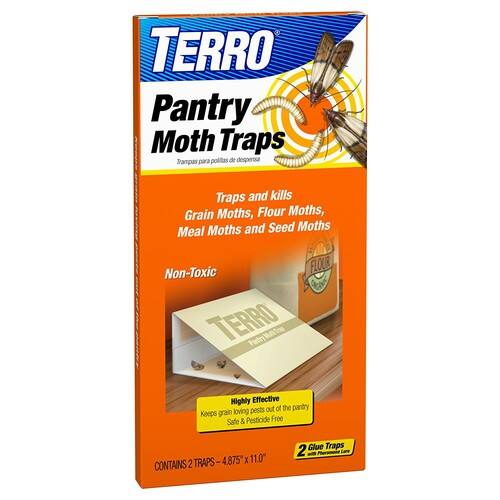 TERRO T2900 Pantry Moth Traps - 2 Pack [1] - $3.63 & FREE Shipping on orders over $25.