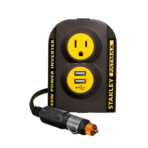Walmart- Stanley FatMax 140W Power Inverter with USB - $15.98 + FREE 2-DAY SHIPPING on orders $35+ or free store pickup