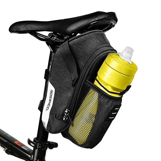 1.8L Bike Bicycle Saddle Bag, Mountain Road MTB Bike Cycling Storage Pack/Under Seat Packs for $9.60 AC