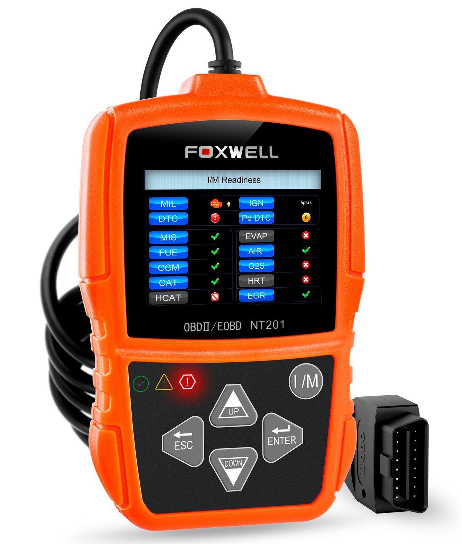 FOXWELL NT201 OBD II Auto Code Scanner Automotive Diagnostic