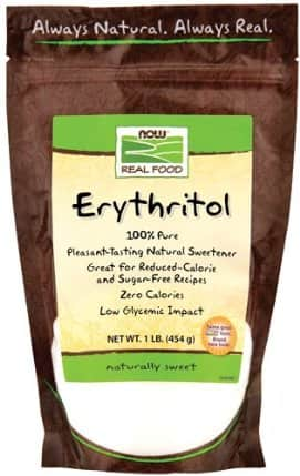 NOW Foods Erythritol Pure Sweetener - 3 Pounds - $8.27 FSSS